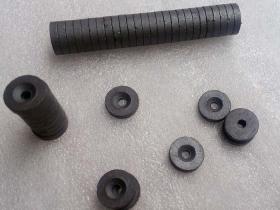 永磁沉头孔磁铁、普磁沉孔磁铁 带螺丝孔磁铁