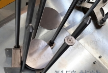 圆形铁板通用磁铁分片器 超强磁力分料器 铁片快速分离设备