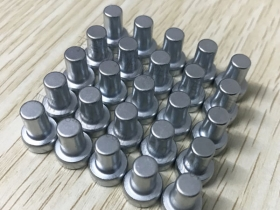 东莞钕铁硼强磁铁定做N38圆T形永磁铁线切割电镀3500高斯磁铁