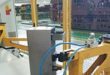 气动消磁摆臂式磁力分层器 带气缸板料分层设备 可调节磁力