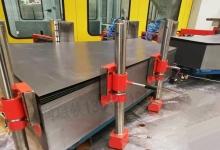 滑竿式强磁分张器碳钢板料自动分层器磁性分离器铁板分料
