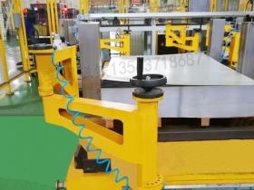 带气缸磁性分离器 气动铁板分层器 堆料自动分张器非标定做