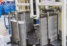 源头厂家现货供应圆棒磁力分层器 圆柱磁性分离器 铁板分层